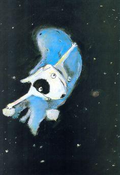 Hicieron cosquillas a las estrellas hasta hacerlas soltar polvo. Mordieron en la luna hasta hacerla menguar.