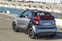 2017 Smart ForTwo Cabrio first drive Photo 2 Smart Fortwo, First Drive, Convertible, Vehicles, Car, Random, Auto Racing, Racing Wheel, Infinity Dress