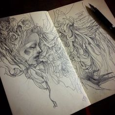 Sketchbook drawings by Craww - BOOOOOOOM! - CREATE * INSPIRE * COMMUNITY * ART * DESIGN * MUSIC * FILM * PHOTO * PROJECTS