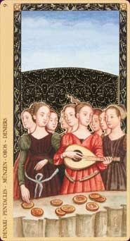 Golden Tarot of the Renaissance (aka Estensi Tarot)