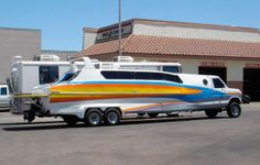 Boaterhome, the boat-van conversion... AND it's amphibious!