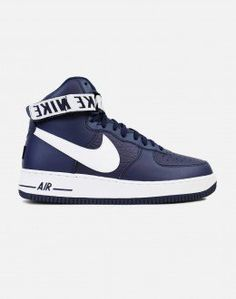 Nike Air Force 1 '07 High LV8 'Statement Game' (College Navy/White)