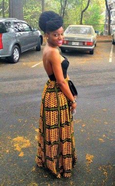 African fashion (shape - not the color)