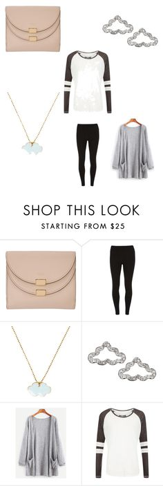"""Cloud Jewelry"" by pll-fan22 ❤ liked on Polyvore featuring Chloé, Dorothy Perkins, Conran and Superdry"
