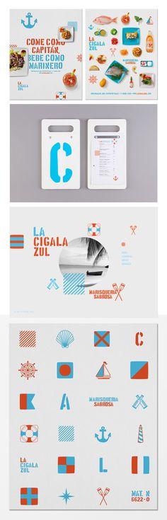 La Cigala Zul http://savvy-studio.net/en/branding-en/la-cigala-zul-en/