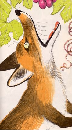 Three Fox Fables by Aesop, illustrated by Paul Galdone (1971).