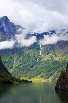 Fjord in Norway #travel #Europe #smileshare