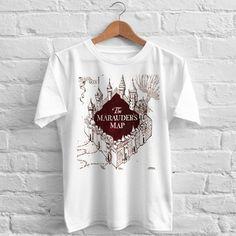 The Marauder's Map T-Shirt gift shirt Tees Adult Unisex custom clothing Size S-3XL //Price: $11.99  //