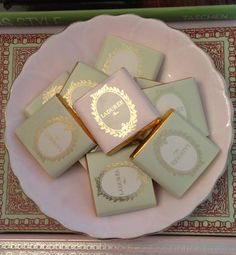 Laduree chocolates! I got mine from Laduree Harrods! :)