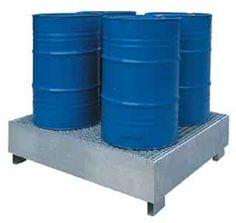 CUBETOS METÁLICOS PARA IBC´s. SP4G. Ideales cuando el líquido puede afectar la pintura o el polietileno.