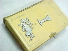 Antique  Celluloid Cover German #Bible Estate Paper Ephemera by #NickelNotions on #Zibbet