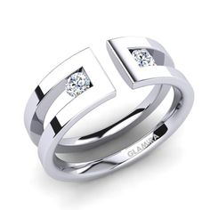 Diamonds are the most precious stones ever known to a mankind and the permanent . - Diamonds are the most precious stones ever known to a mankind and the permanent symbols of luxury. Jewelry Rings, Silver Jewelry, Jewelry Accessories, Jewelry Design, Gold Jewellery, Glamira Ring, Schmuck Design, Modern Jewelry, Beautiful Rings