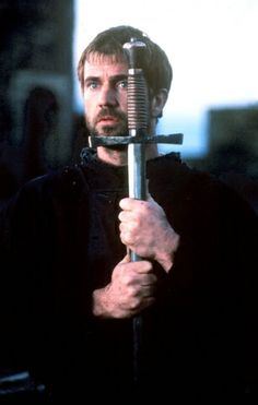 Mel Gibson as Hamlet in a 1990 version of Shakespeare's Hamlet. While Hamlet has been played by many people at different ages, Gibson depicts him as late early Mel Gibson, Shakespeare Movies, William Shakespeare, Hamlet Characters, Fantasy Characters, Im Broken Inside, I'm Broken, War Drums, Sibling Rivalry