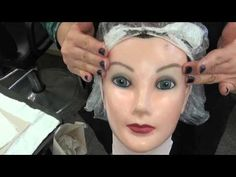 State Board FACIAL procedure on the doll head - YouTube