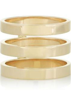 Berbère 18-karat gold ring #mediumring #covetme #repossi