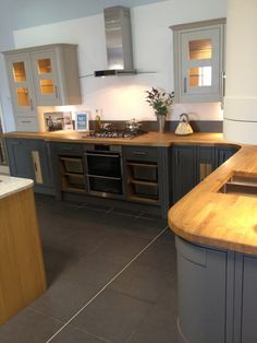 Somerton Sage & Somerton Fern Kitchen from Magnet