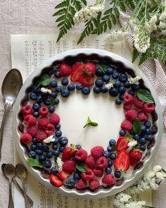 Acai Bowl, Panna Cotta, Breakfast, Bella, Food, Instagram, Acai Berry Bowl, Morning Coffee, Dulce De Leche