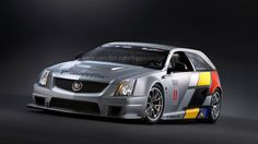 Cadillac CTS-V Sport Wagon racer rendered by reader