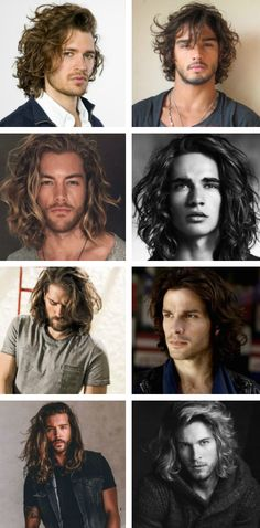 The Best Hairstyles for Long Hair for Men - from man buns to loose waves, shoulder length to extra long