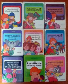 Collection de livre vintage : Marmouset