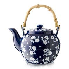 Floral Porcelain Teapot