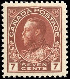 Canada #114b, F-VF, MNH