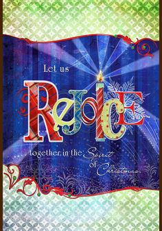 Toland Garden Flag Rejoice Together 12.5 x 18 in. NEW Christmas