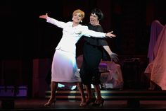 Nancy Hays (Mame Dennis) and Mary Robin Roth (Vera Charles) in Light Opera Works' Mame August 20-28, 2016- at Cahn Auditorium in Evanston, IL http://www.chicagonow.com/show-me-chicago/2016/08/mame-at-light-opera-works-live-live-live/