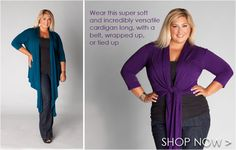 Finally!!! Beautiful fashions for plus-size women! Love this web site!!
