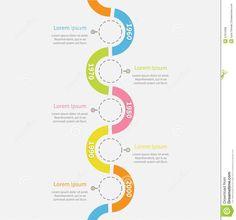 Timeline vertical Infographic snail shape ribbon vector image on VectorStock Timeline Infographic, Infographics, Organizational Chart, Graphic Artwork, Lorem Ipsum, Design Inspiration, Graphic Design, Shapes, Google Search