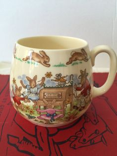 Vintage Bunnykins Mug Royal Doulton Made by PineStreetPickers