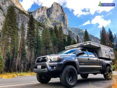 Rent and pickup a pop up camper and truck directly from the factory or at various factory certified dealers in several US states and countries. Off Road Camping, Truck Camping, Camping Hacks, Camper List, Pop Up Truck Campers, Small Travel Trailers, Tacoma Truck, Expedition Truck, Off Road Adventure