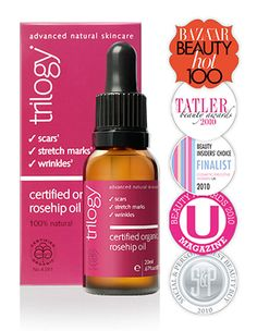 Praised the world over, Certified Organic Rosehip Oil is nature's answer to perfect skin. For both face and body, this oil delivers skin loving nutrients and is ideal to help repair past damage.