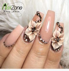 Expand fashion to your nails by using nail art designs. Used by fashionable stars, these kinds of nail designs can incorporate instantaneous elegance to your apparel. 3d Nail Designs, Nail Designs Spring, Acrylic Nail Designs, Cute Nail Art, 3d Nail Art, Cute Nails, Nail Nail, Red Nail, Stylish Nails