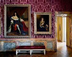 Versailles, Salles XVIIIeme, Portraits de Louis XIV et de la Marquise de Maintenon