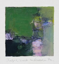 https://flic.kr/p/JFGfF8 | july012016 | Oil on canvas  9 cm x 9 cm  © 2016 Hiroshi Matsumoto www.hiroshimatsumoto.com