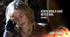 RT if you miss the sisterly bond of Amanda and Kenya. #Defiance.