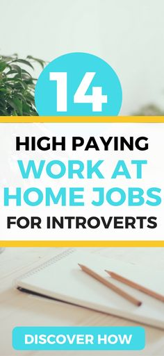 The 14 BEST work from home jobs for introverts. Find a high paying job and make … The 14 BEST work from home jobs for introverts. Find a high paying job and make money from home today. Make Money Blogging, Make Money From Home, Way To Make Money, Money Fast, Money Tips, Saving Money, Money Budget, Managing Money, Quick Money