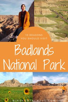"Badlands National Park in South Dakota holds a very special place in my heart – it was the first National Park that I ever visited AND it was my first trip ""out west"".  I've now been there multiple times and have LOVED every second of every day I've spent there.  I think it is a highly underrated natural beauty in the U.S. and I feel everyone should start planning a trip there ASAP!  #badlands #nationalparks #usatravel #ustravel #traveldestinations"