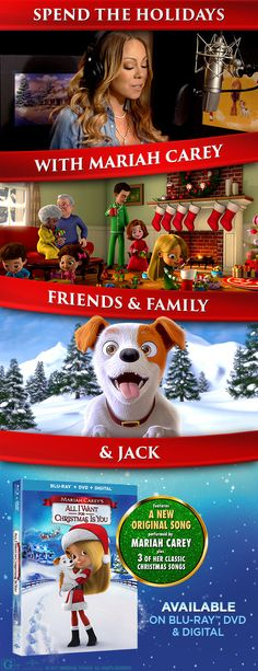Spend the holidays with the ones you love! Give the gift of songs, laughs, and cheer with this new holiday classic for the whole family. Cuddle up on the couch with some hot chocolate, popcorn, and the whole family for the coziest movie night ever! Own it on Blu-ray, DVD & Digital Nov 14.