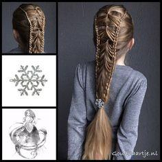 Feathered elastic braid with a cool hairclip from the webshop www.goudhaartje.nl (worldwide shipping). Hairstyle is inspired by: @mita_p_akbari (instagram) #hair #haar #vlecht #vlechten #hairclip #hairstyle #braid #braids #hairstylesforgirls #plait #trenza #peinando #прическа #pricheska #ヘアスタイル #髮型 #suomiletit #fläta #beautifulhair #gorgeoushair #stunninghair #hairaccessories #hairinspo #braidideas #amazinghair #halfupdo #goudhaartje
