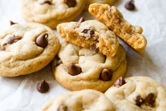 Game changers with chocolate chips