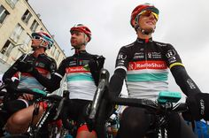 Jens Voigt with Schleck brothers Frank & Andy
