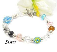 Gift Idea For Sister-Poem Bracelet