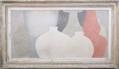 8 of 7 - Original acrylic painting on wood in antique frame by Peter Woodward