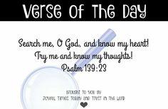 Psalm 139:23
