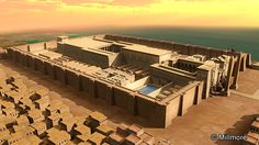 luxor temple reconstruction - Google Search