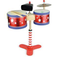 Vilac kinderdrumstel - Mijn eerste drumstel