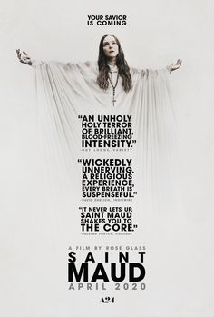 Watch Streaming Saint Maud : Online Movie Having Recently Found God, Self-effacing Young Nurse Maud, Arrives At A Plush Home To Care For. 2020 Movies, Hd Movies, Horror Movies, Movies To Watch, Movies Online, Movie Tv, Film Vf, Jennifer Ehle, Horror Films