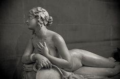 Dirce. Lorenzo Bartolini, c. 1824/ 1834, Marble. Louvre Museum
